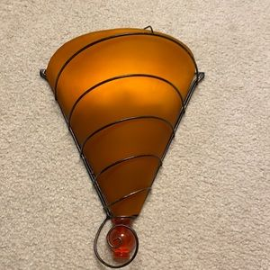 Amber Wall Sconce